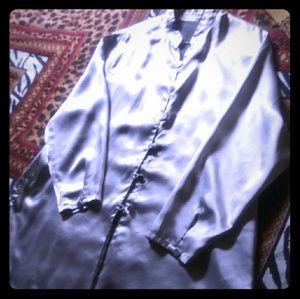 Diane Von Furstenberg. Satin Jacket.